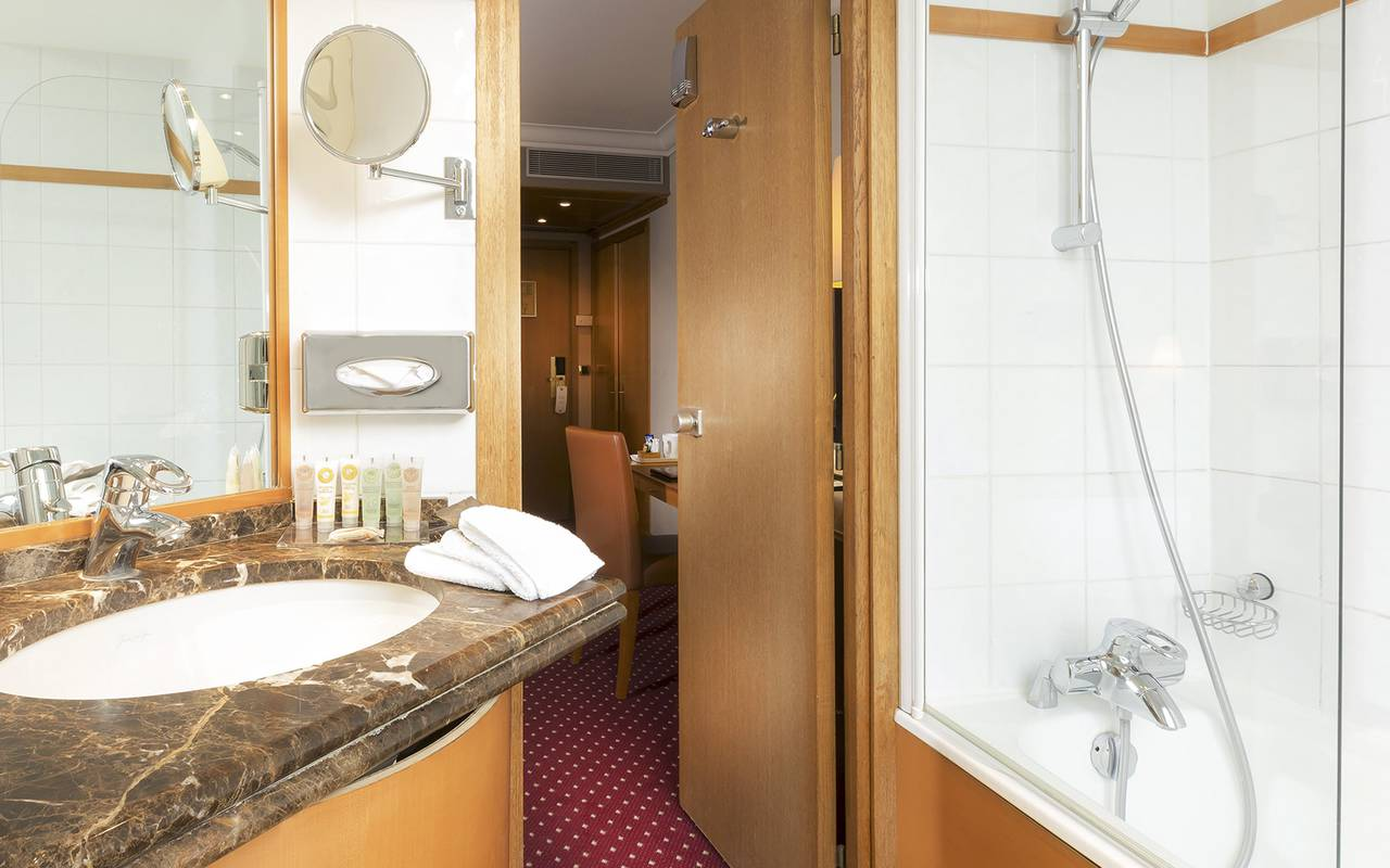 luxury hotel paris bathroom