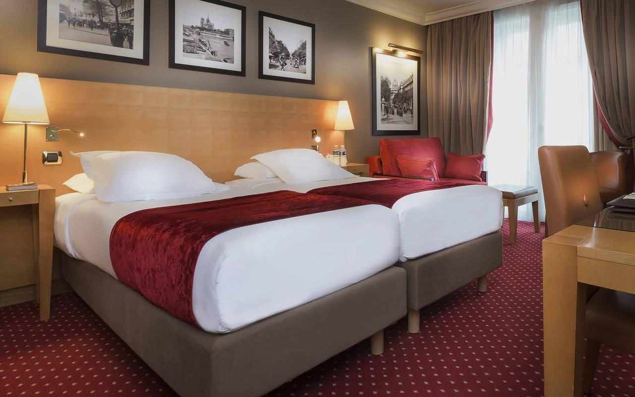 hotel bulevar saint michel Paris