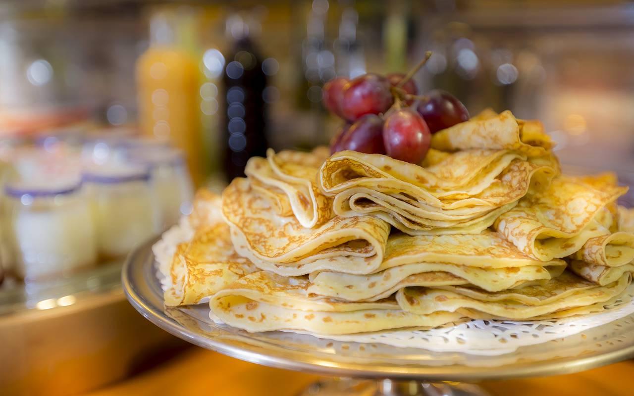 desayuno en hotel de lujo en Paris
