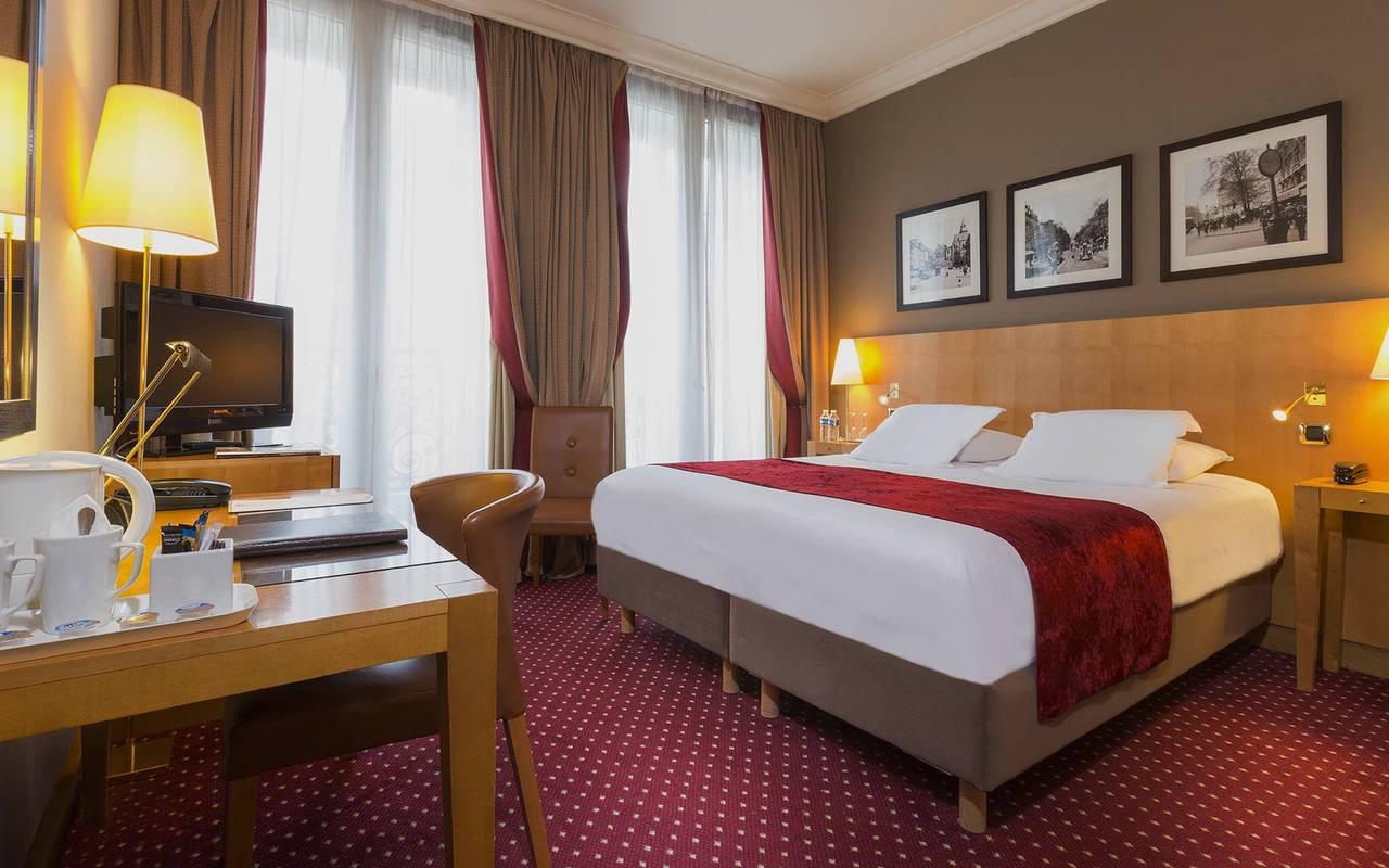 hotel con encanto en barrio latino de Paris