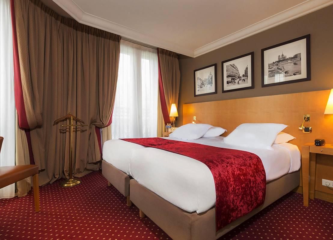 hotel de luxe au centre de Paris
